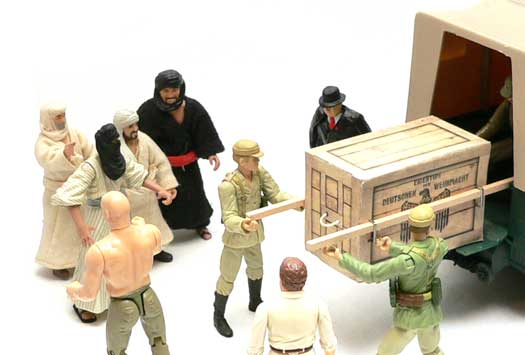 TVandFilmtoys.com, DIY, make your own Ark Crate, Raiders of the Lost Ark, Diorama, Indiana Jones