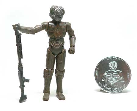 Star Wars®, Star Wars Action Figures®, 4-LOM®, droid, Zuckuss®,  Action Figure Review