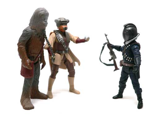Bane Malar, Return of the Jedi, Star Wars®, Star Wars Action Figures®, Jabba's Palace, Action Figure Review