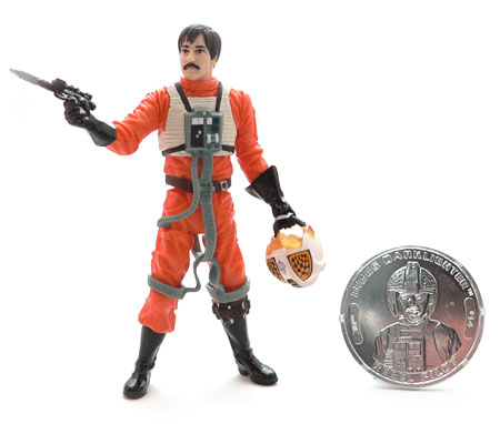 Star Wars®, Star Wars Action Figures®, Rebel Pilot,Yavin®, Biggs Darklighter Rebel Pilot®, Action Figure Review
