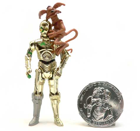 Star Wars®, Star Wars Action Figures®, C-3PO®, droid, Salacious Crumb  Action Figure Review