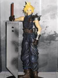 Final Fantasy VII, Cloud Strife, Tifa Lockhart, Play Arts, Action Figure Review
