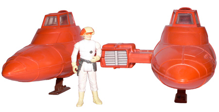 Vintage Star Wars® Twin Pod Cloud Car®, Action Figures, Review