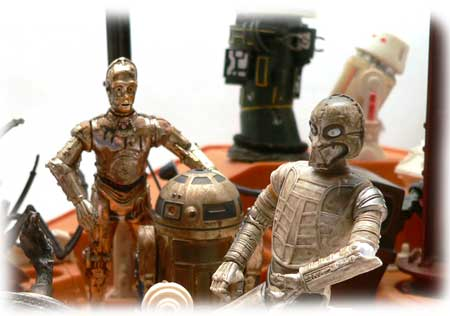 Star Wars®, Star Wars Action Figures®, CZ-4®, droid,  Action Figure Review