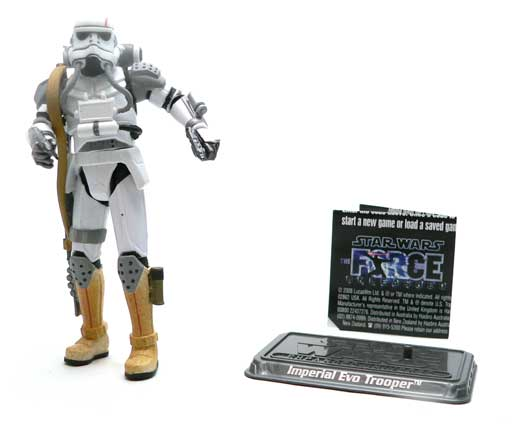 EVO Trooper, Force Unleashed, Expanded Universe, Star Wars®, Star Wars Action Figures®,  Action Figure Review