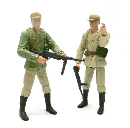 German Soldier, 2 pack, Indiana Jones®, Raiders of the Lost Ark®, Hasbro, Action Figure Review