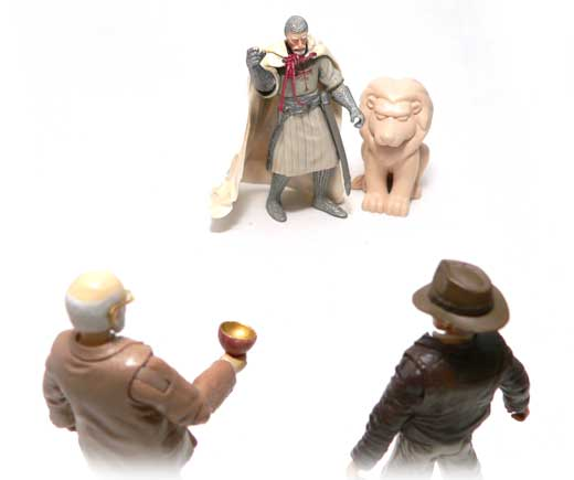 Grail Knight, Indiana Jones®, Raiders of the Lost Ark®,Last Crusade, Hasbro, Action Figure Review