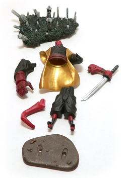 Hellboy, Animated, Kimono, Gentle Giant, Bust-Up, Action Figure Review