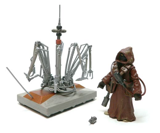 Star Wars®, Star Wars Action Figures®, jawa®, WED, Treadwell, Droid, Action Figure Review