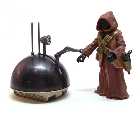 Star Wars®, Star Wars Action Figures®, jawa®, LIN droid, Action Figure Review