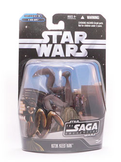 Star Wars®, Star Wars Action Figures®, Cantina, Alien, Kitik Keed'kak®, Action Figure Review