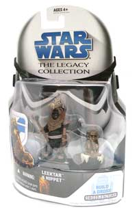 Leektar, Ewok, Nippet, Return of the Jedi, Star Wars®, Star Wars Action Figures®, Jabba's Palace, Action Figure Review