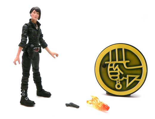 Liz Sherman,Hellboy, Golden Army, Mezco, Action Figure Review