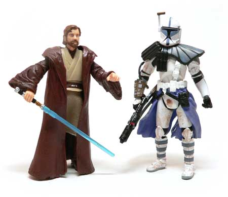 Star Wars®, Star Wars Action Figures®, Obi-Wan Kenobi®, Arc Trooper Alpha, Action Figure Review