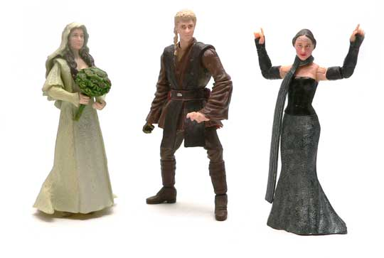 Star Wars®, Star Wars Action Figures®, Padme Amidala, Naboo Senator,  Attack of the Clones, AOTC, Action Figure Review