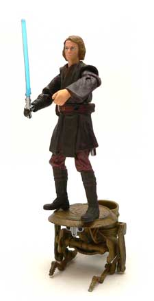 Mustafar, Panning Droid, Anakin Skywalker, Obi-Wan Kenobi, Duel, Revenge of the Sith, Star Wars®, Star Wars Action Figures®,  Action Figure Review