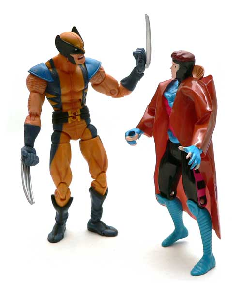 Gambit, Wolverine, Remy LeBeau, X-men, Toy Biz, Action Figure
