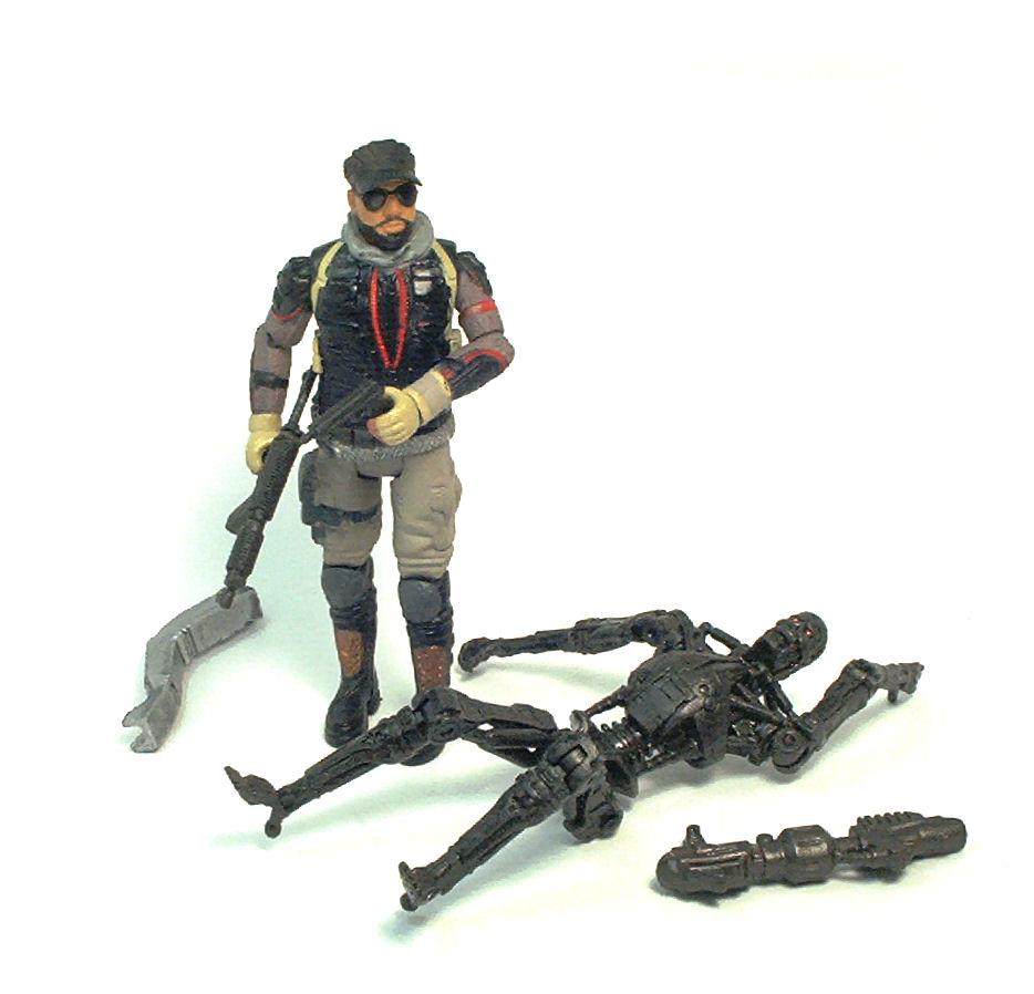 Barnes (Terminator: Salvation) Action Figure Review | TV ...