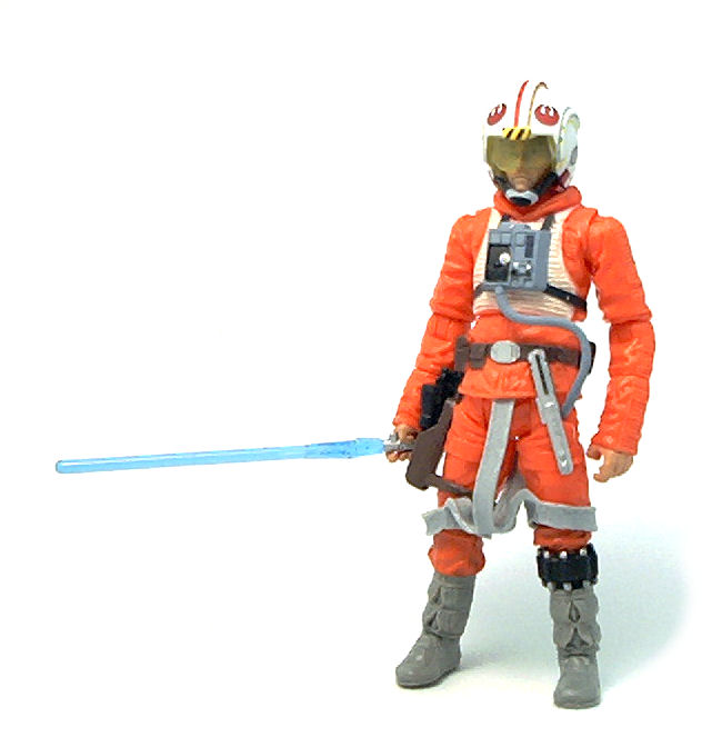 Star wars luke skywalker toy