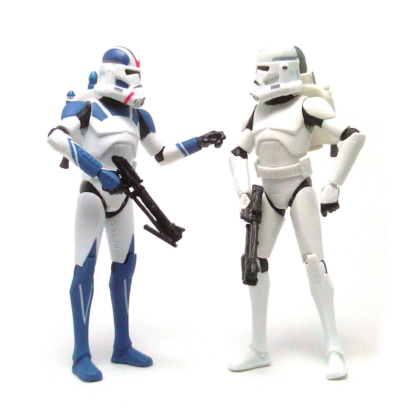 501st legion clone trooper clone wars star wars action figure