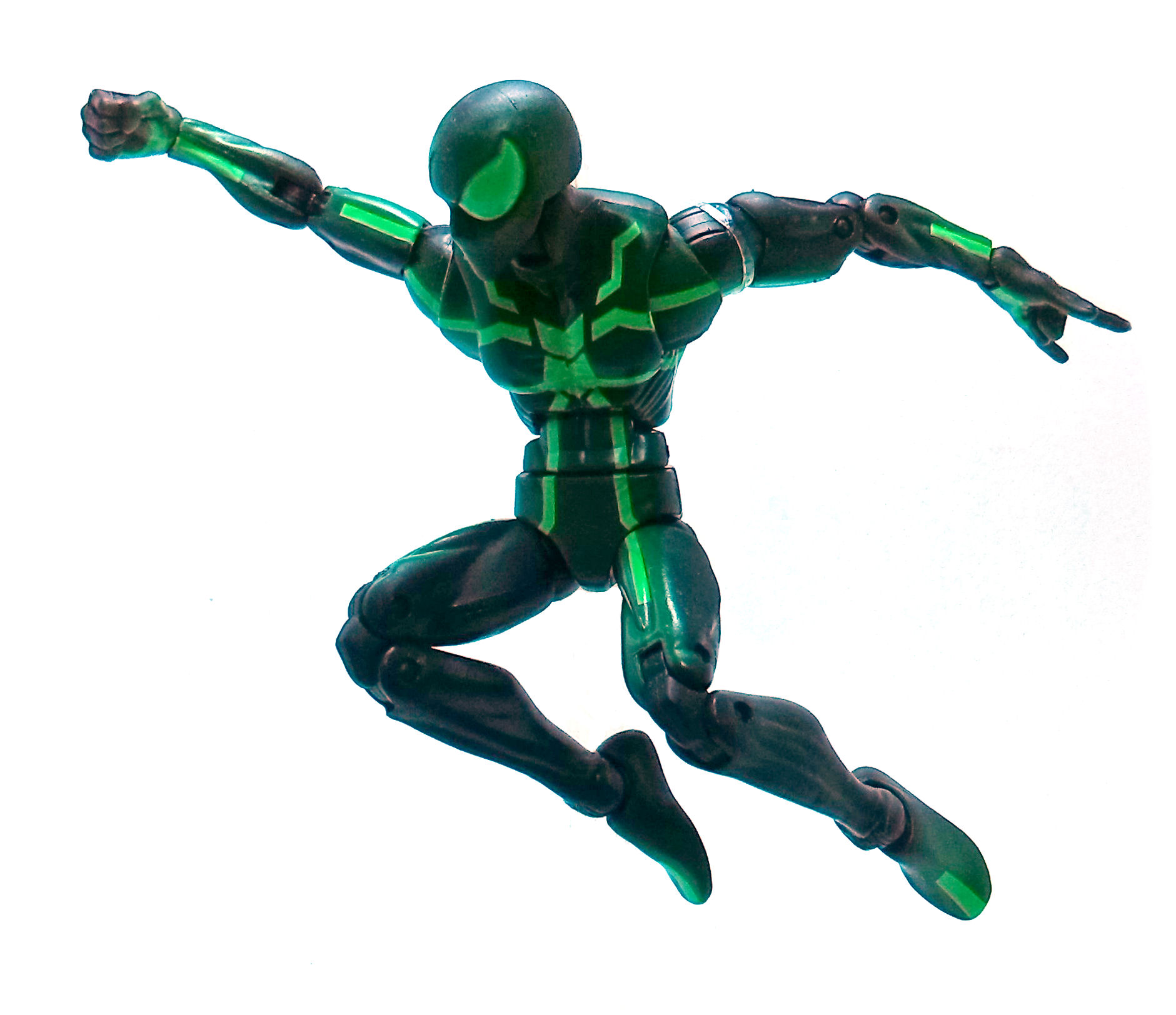 spiderman marvel legends action figure review tv and