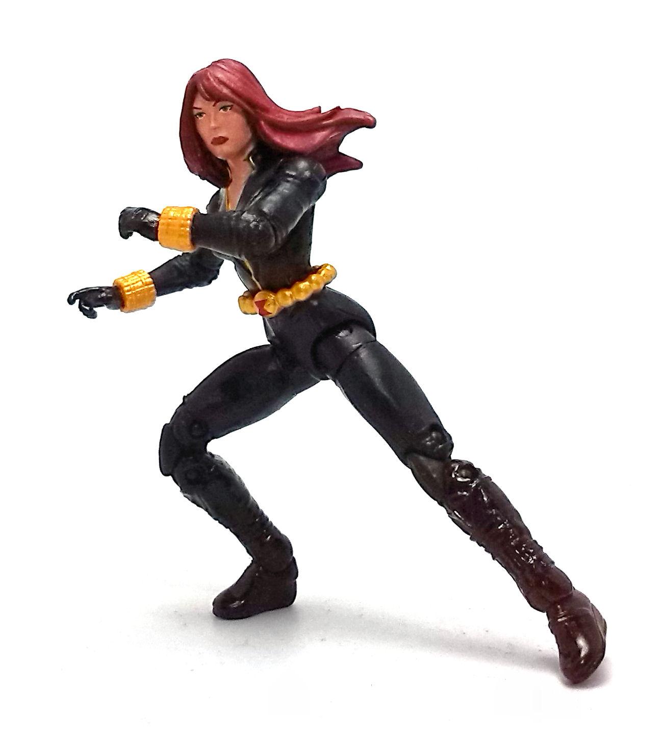 Kid Black Widow Superhero Clipart