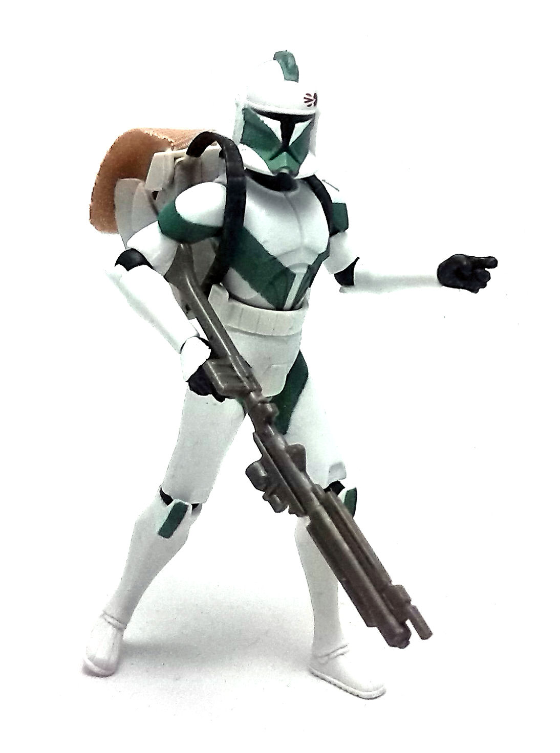 Star Wars The Clone Wars Toys : Clone trooper draa star wars the action figure
