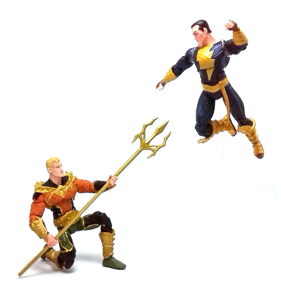 Injustice Aquaman vs Black Adam