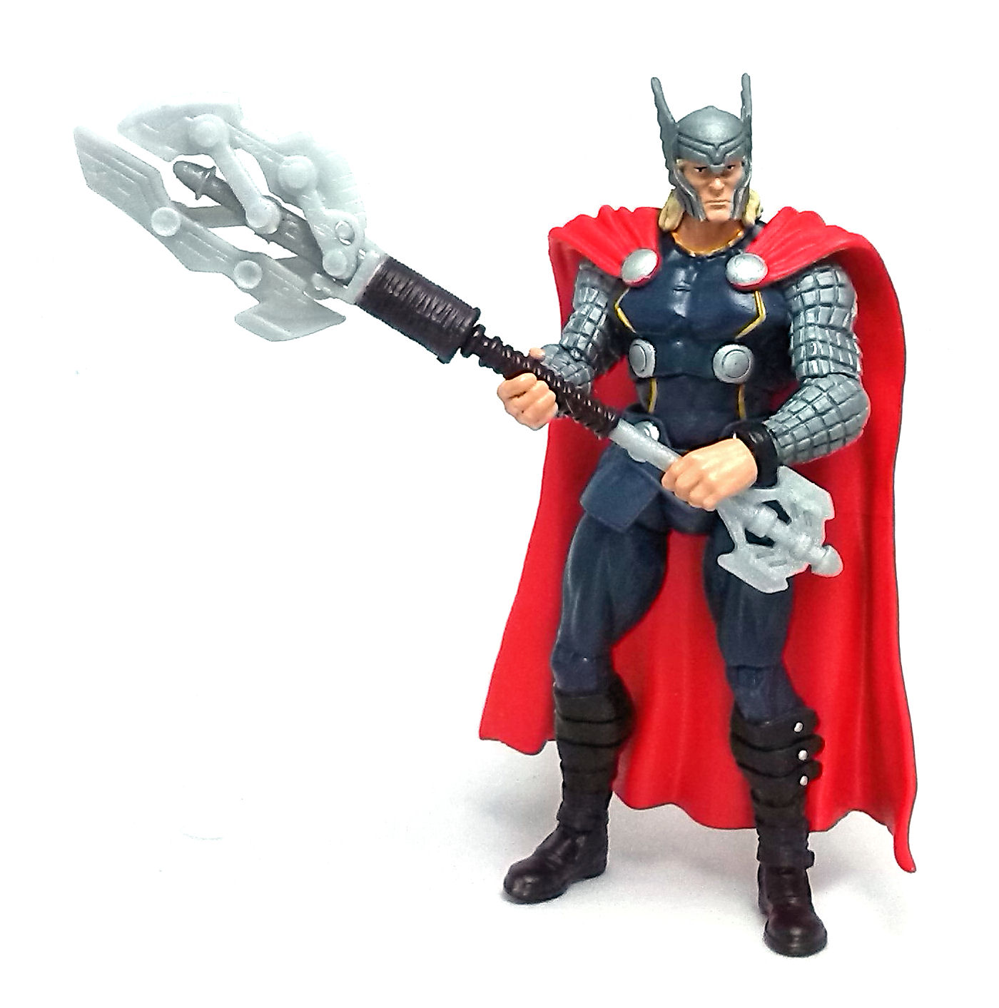 thunder axe thor avengers assemble action figure review