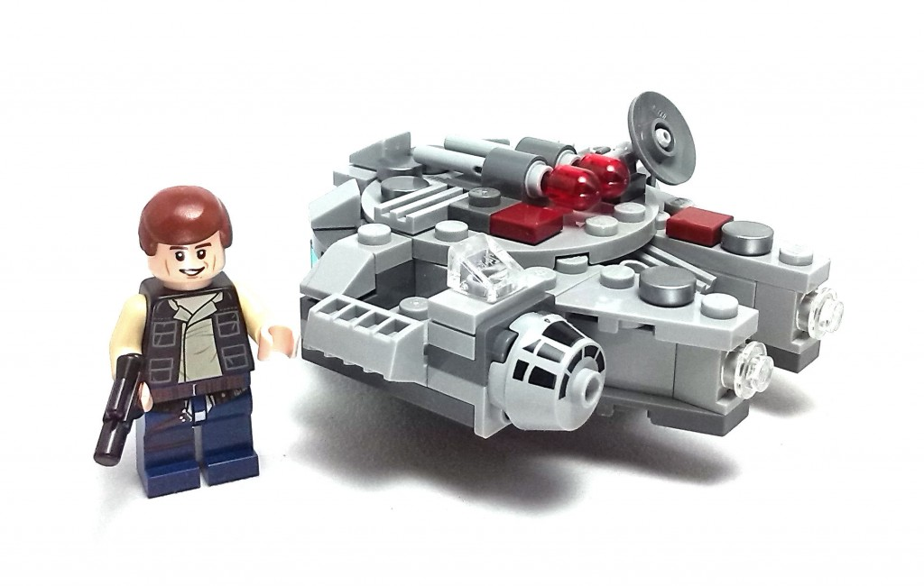 Millennium Falcon Micro Fighter (4)