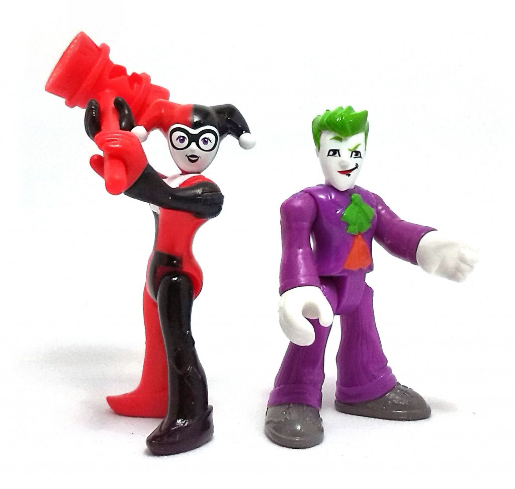 Joker y Harley  Imaginext (2)