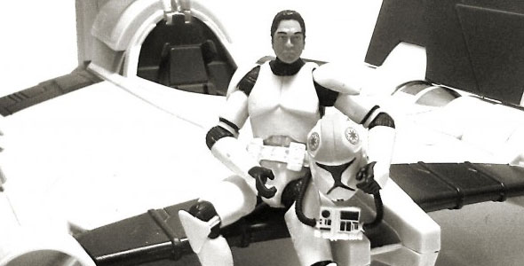 Clone Pilot ( Phase I Armor)