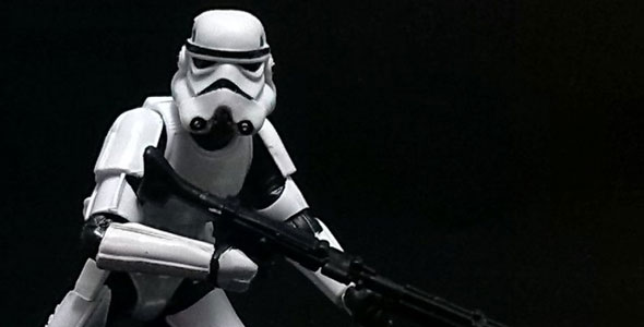Stormtrooper (Black Series, 1/18 scale)