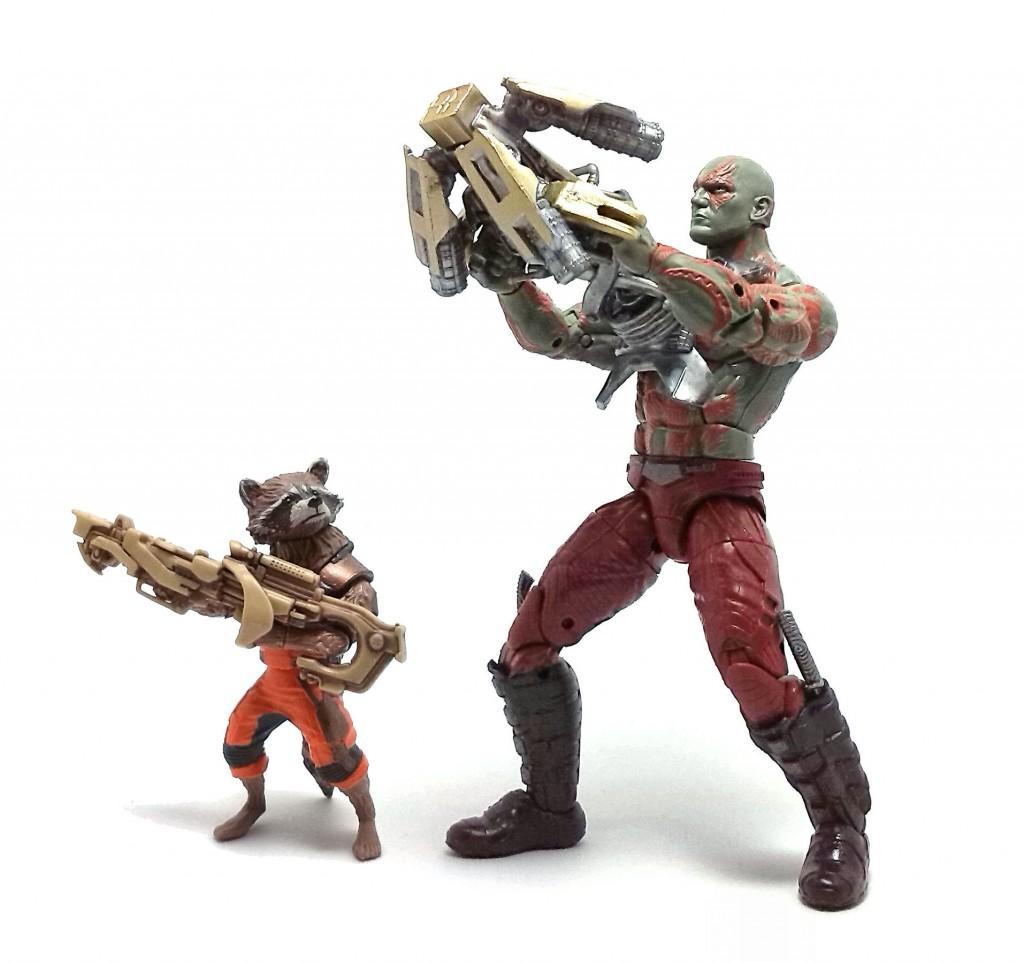 Rocket y Drax