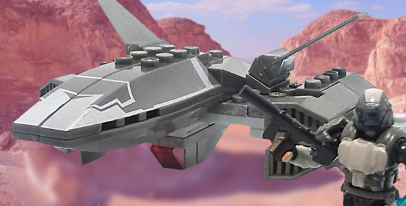 UNSC Wombat Recon Drone