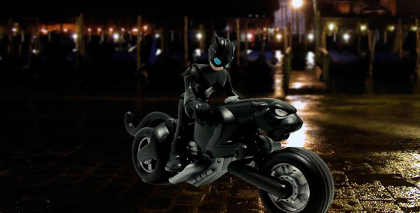Catwoman w/Catcycle (Imaginext)