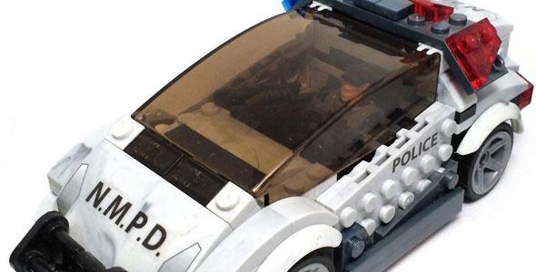 Police Cruiser Standoff (Halo Mega Bloks)